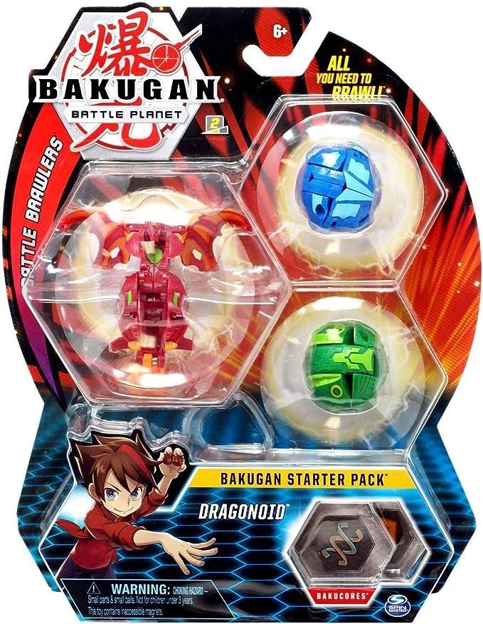 BAKUGAN Starter Pack - Pack Dragonoid: Amazon.es: Juguetes y juegos