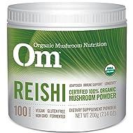 Om Organic Mushroom Nutrition Reishi, 7.14 Ounce
