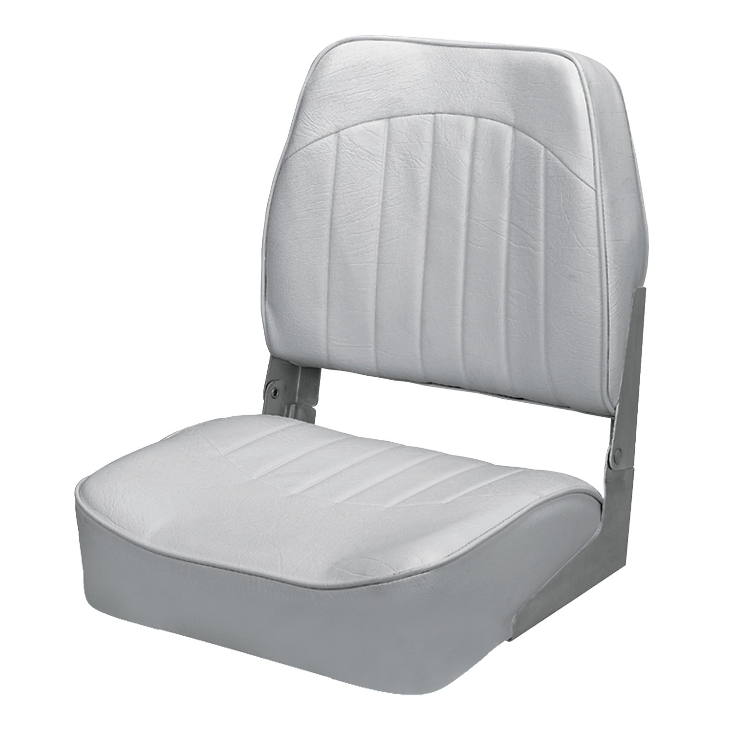 Wise 8WD734PLS-717 Low Back Boat Seat, Grey by Wise (Image #1)