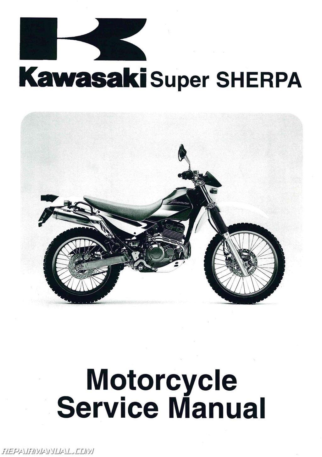 kawasaki kl250 service manual