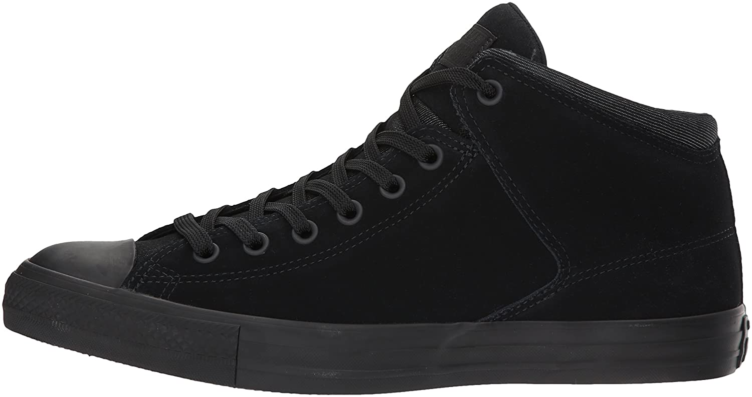 Converse Men's Chuck Taylor High Street Mid Top with Thermal US Lining B06XHQ59GT 6 B(M) US Thermal Women / 4 D(M) US Men|Black ce81f5
