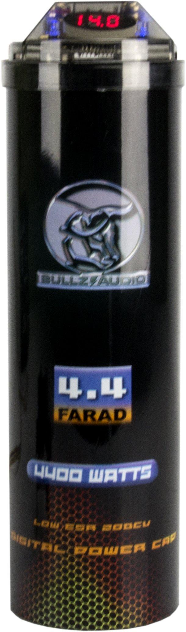(2) BULLZ AUDIO 4400W 12V BCAP 4.4 Digital Car Power Farad Capacitors | BCAP4.4 by BULLZ AUDIO (Image #3)
