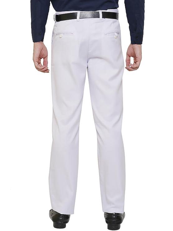 0265c08b21c AD   AV Mens Formal Trouser SAIBLACK P  Amazon.in  Clothing   Accessories