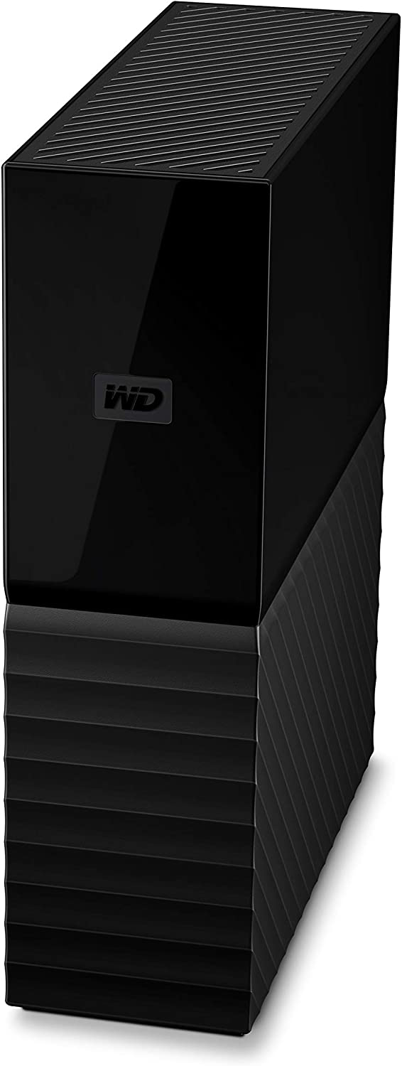 WD 12TB My Book Desktop External Hard Drive, USB 3.0 - WDBBGB0120HBK-NESN,Black
