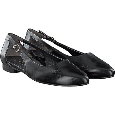 online store 615a0 fb989 Paul Green | Ballerina klassisch spitz | schwarz: Amazon.co ...
