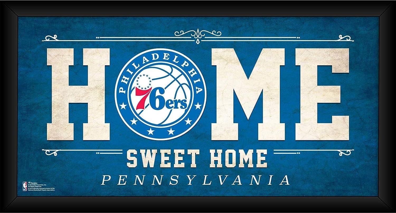 Philadelphia 76ers Framed 10