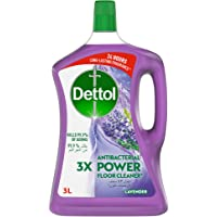 Dettol Lavender Antibacterial Power Floor Cleaner 3L