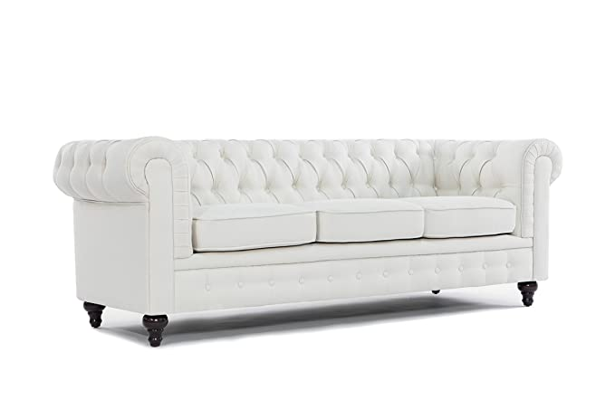Amazon.com: Sofá estilo Chesterfield clásico ...