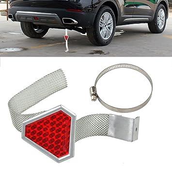 beler Rot Universal Auto Metall Anti-statische Reflektor Streifen ...