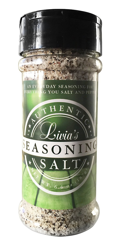 Livia's Seasoning Salt, 6.6 oz (3-Piece)