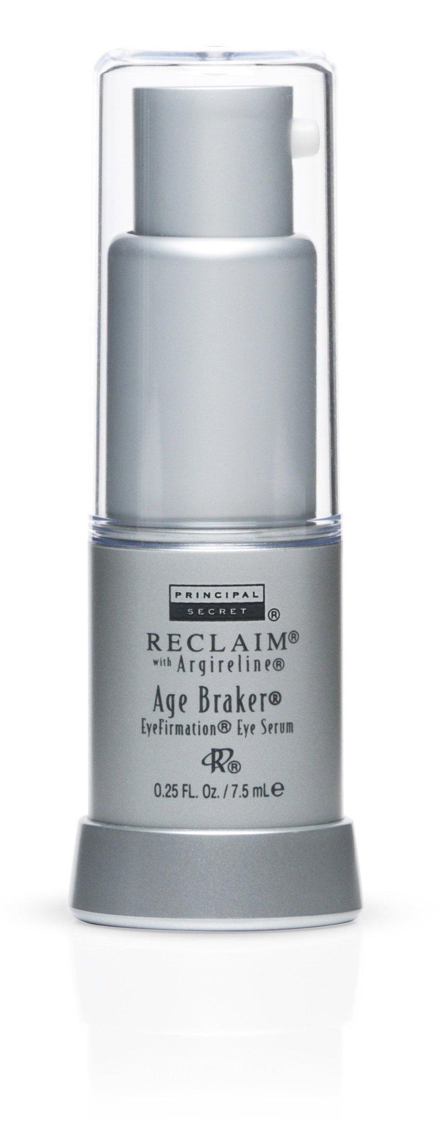 Principal Secret – Reclaim with Argireline – Age Braker EyeFirmation Eye Serum – Aloe & Shea Butter Infused – Travel Size 30 Day Supply/0.25 Ounce