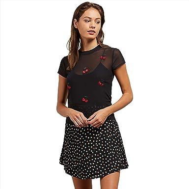 060f5e41 Amazon.com: Volcom Women's Cher Ray Short Sleeve Fitted Tee: Clothing