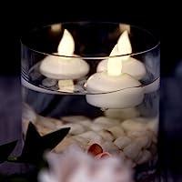 AGPTEK Lot de Bougies LED à Piles Decoration pour Table Party Anniversaire Mariage (Plusieurs Choix Disponibles)