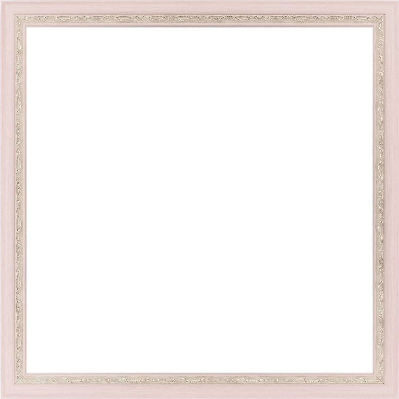 正方形額縁 APS-02 UVカットアクリル仕様 (ピンク, 600角) B079BJWX53 600角|ピンク ピンク 600角