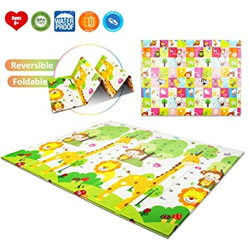 Amazon.com: AIMERDAY - Alfombrilla de juegos plegable de ...