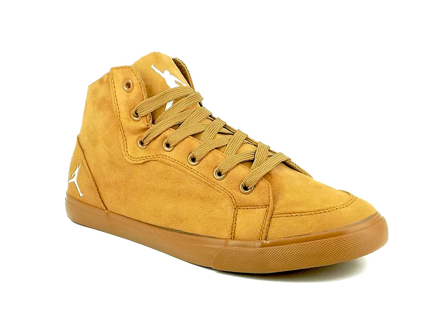Series Suede Tan Casual Shoes at Amazon