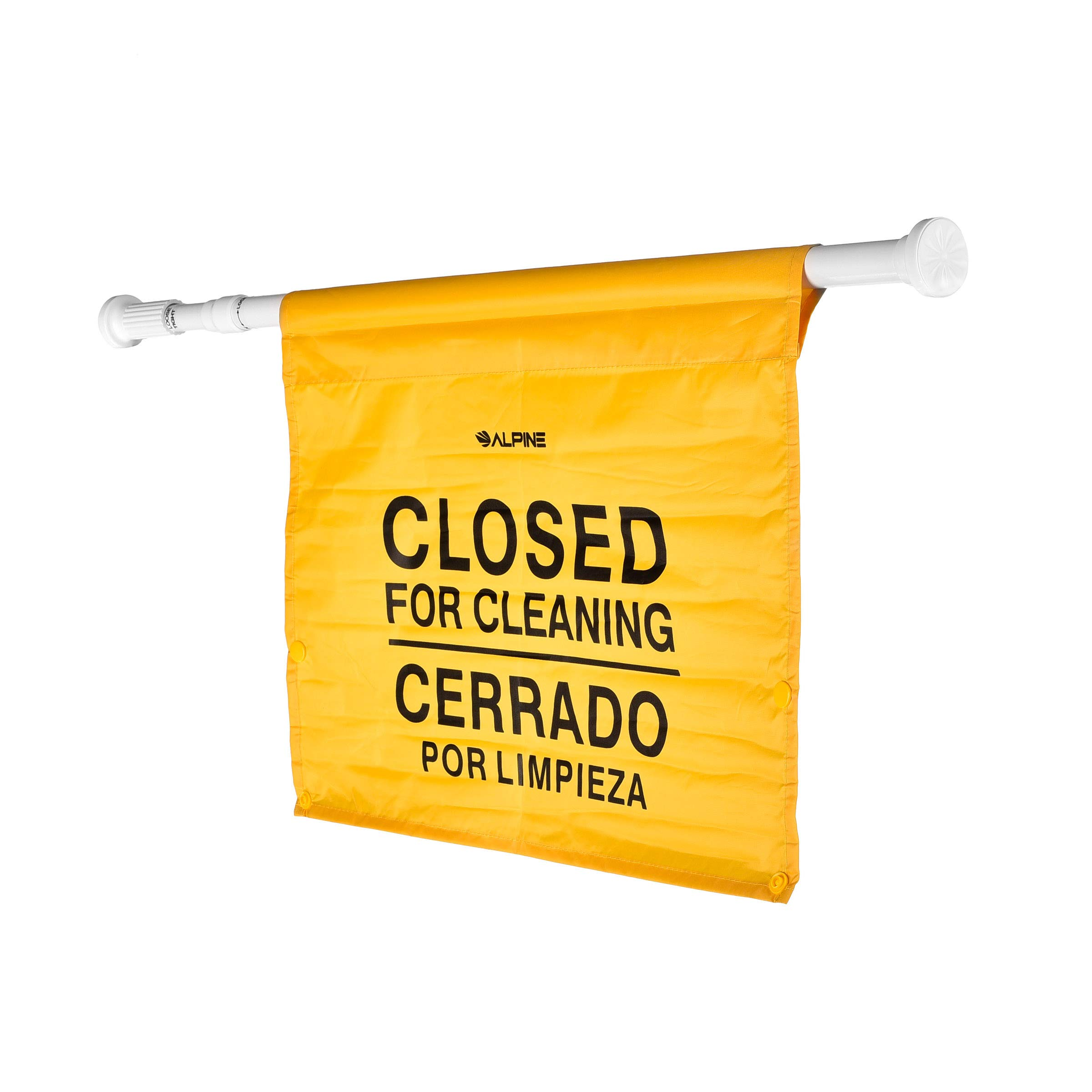 """Alpine Industries """"Closed for Cleaning"""" Hanging Safety Sign - Heavy Duty Warning Precaution - for Establishments and Commercial Use by Alpine Industries (Image #2)"""