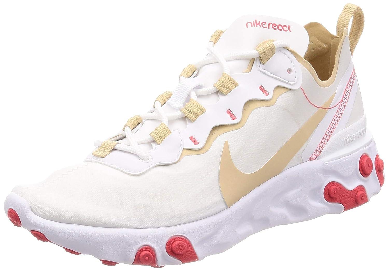 MultiCouleure (blanc Desert Ore blanc Ember GFaible GFaible 000) Nike W React EleHommest 55, Chaussures d'Athlétisme Femme  beaucoup de surprises