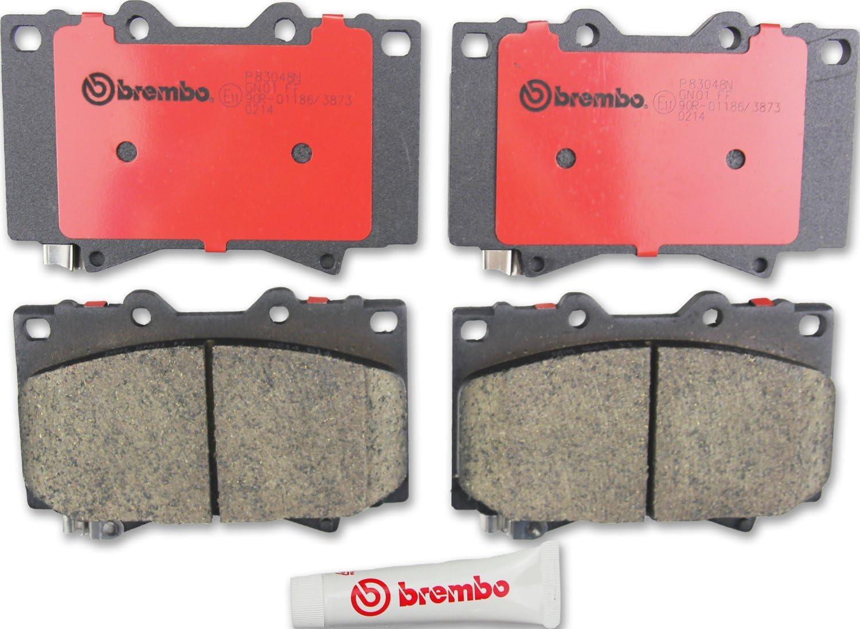 Brembo Performance Premium Ceramic Disc Brake Pad Complete Rear Set-P83024N
