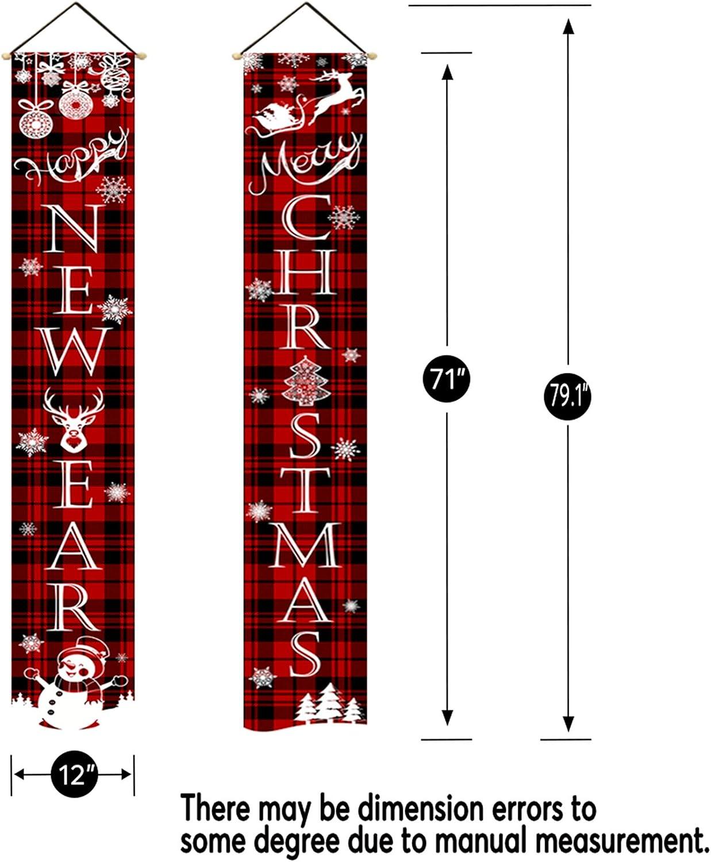 ghdonat.com pinata Christmas Porch Signs 12 x 71 Inch Christmas ...