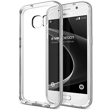 Amazon.com: Galaxy S7 caso, VRS diseño [Crystal Parachoques ...