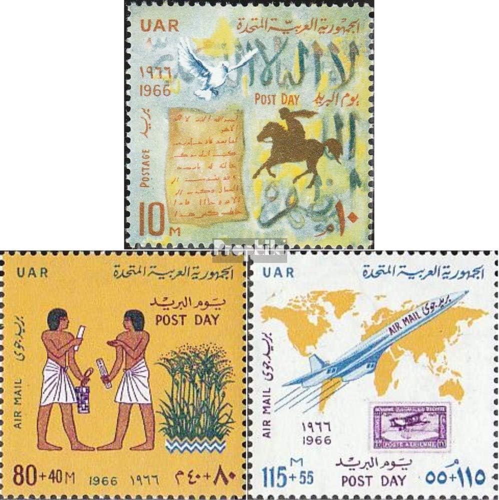 Prophila Collection Egipto Michel.-No..: 814-816 (Completa.edición.) 1966 Correos (Sellos para los coleccionistas) Aviación: Amazon.es: Juguetes y juegos