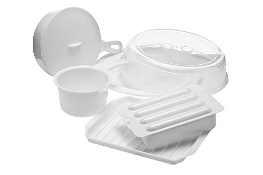 Premier Housewares - Lote de Accesorios para microondas (5 ...