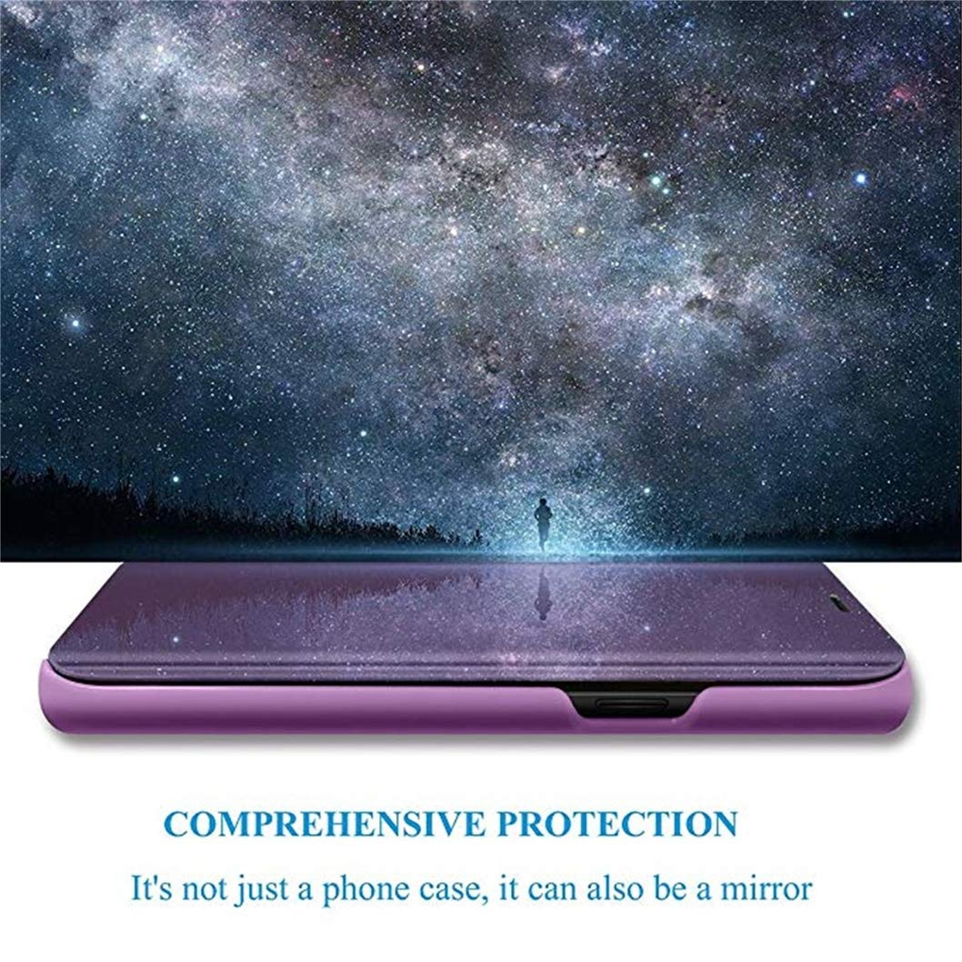 Jacyren Cover iPhone 5 SE iPhone 5S Custodia Specchio Caso Flip Case per iPhone SE Standing Protezione Cassa 360 /º Protectittiva Antiurto Flip Cover Custodia per Apple iPhone 5//5S//SE