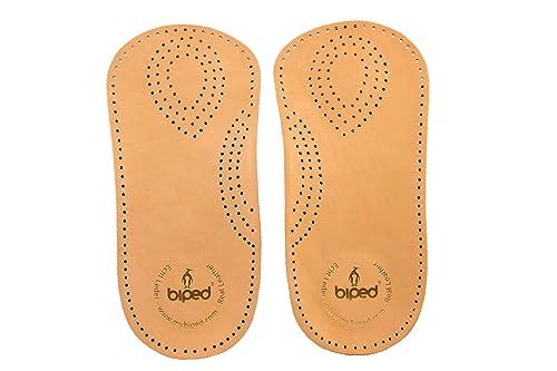 Kaps Premium Schuheinlagen Bolero Orthopädische Einlegesohlen aus pflanzlich gegerbtem Leder