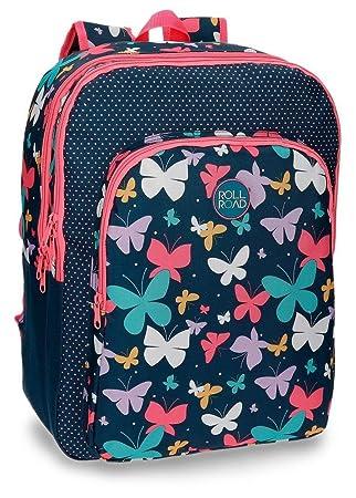 Roll Road 52324B1 Spring Butterfly Mochila Escolar, 42 cm, 27.72 Litros, Multicolor: Amazon.es: Equipaje