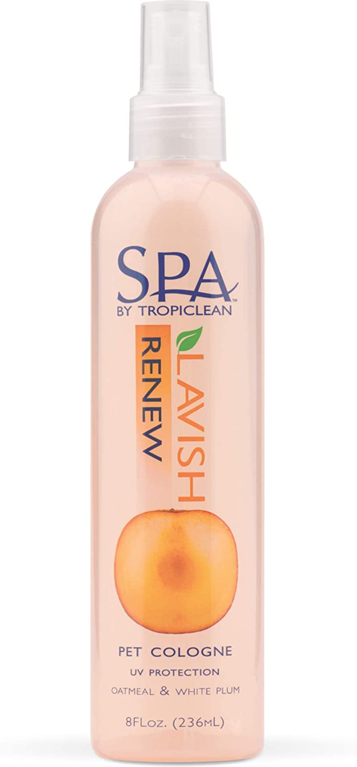SPA by TropiClean Renew Aromatherapy Spray for Pets, 8oz - Made in USA