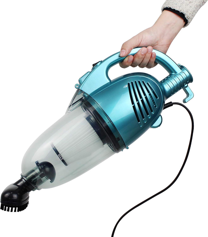 Sotech - Aspiradora 2 en 1, Aspiradora 2 en 1 Vertical y De Mano, Azul, Capacidad del recipiente de polvo: 1,3 L, Potencia máxima: 800 W: Amazon.es: Hogar