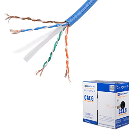 71cXZBuQDFL._SX425_ amazon com [ul listed] cable matters stranded bare copper cat 6