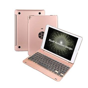 Amazon.com: NewKee - Funda para iPad 9.7 con protector de ...
