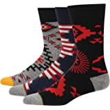 Feetalk Novelty Socks and Womens Unisex Crew Dress Cotton Socks