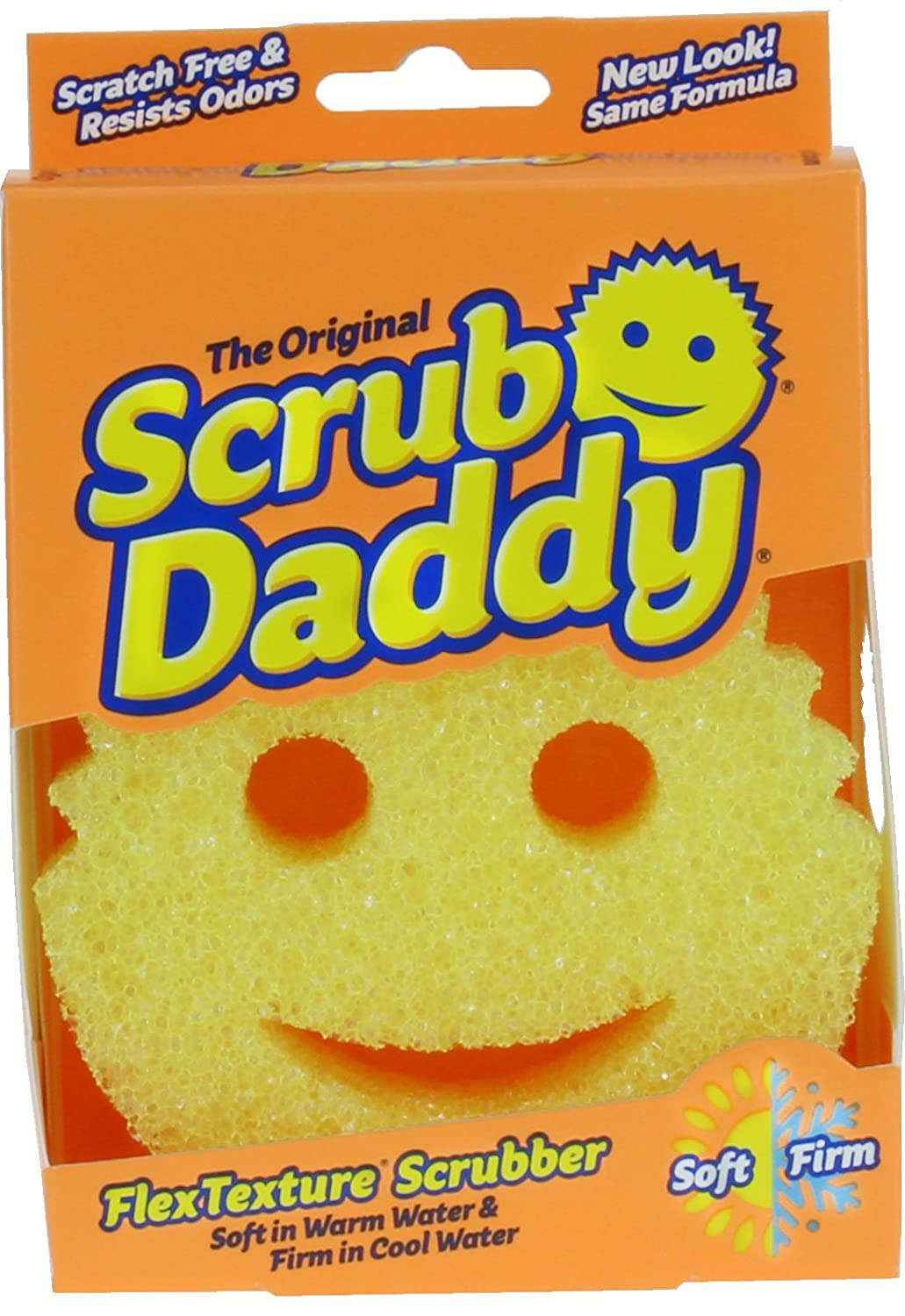 Amazon: Scrub Daddy  Scratch Free Cleaning Pot Scrubber Happy Face  Sponge  As Seen On Tv  Shark Tank: Home & Kitchen