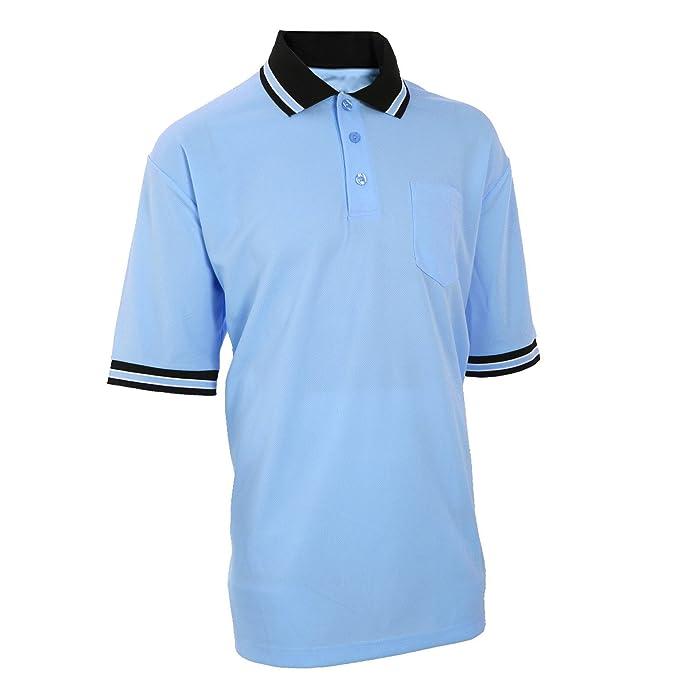 4ac76705970 Amazon.com  Adams USA Smitty Major League Style Short Sleeve Umpire Shirt -  Sized for Chest Protector  Sports   Outdoors