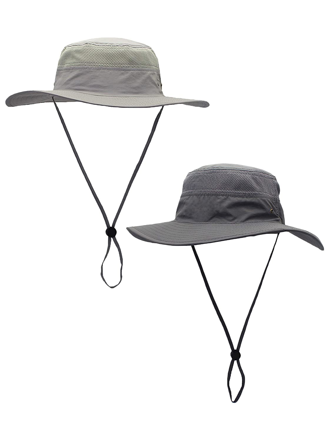 159fd4968 Unisex Outdoor Bucket Hat Fisherman Hat Breathable Quick Drying Sun  Protection for Head Circumference 55-60 cm