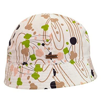 Amazon.com  Kangol Women Floral Drop Stingy Bell Bucket Hat Natural ... db8b6d6ef40