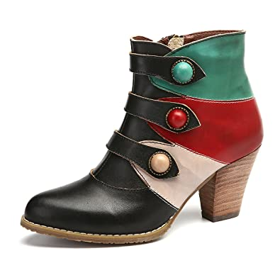 07dbe065f5ae gracosy Women s Ankle Booties