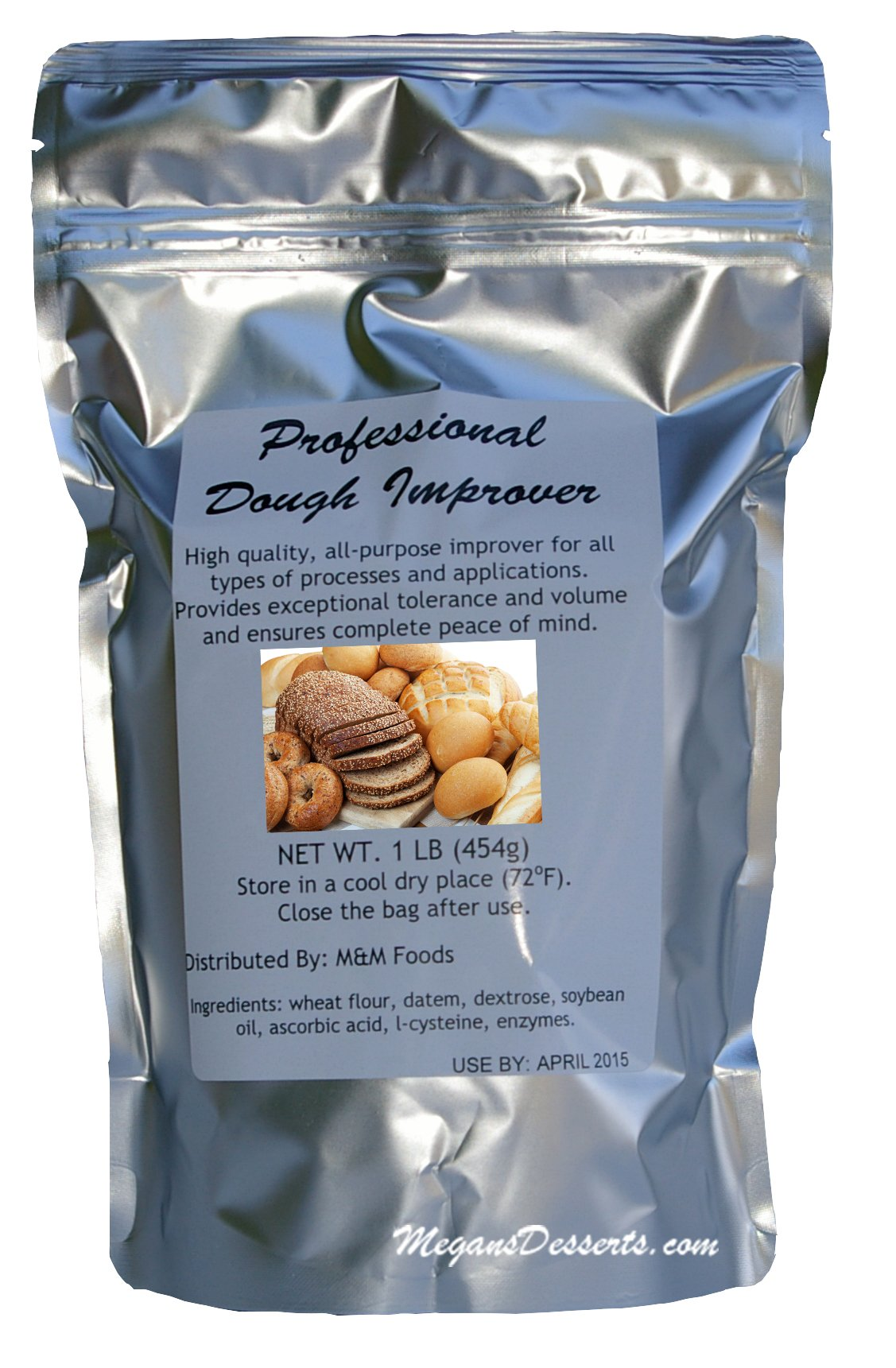 Professional Dough Improver - 1lb Bag by M&M Foods
