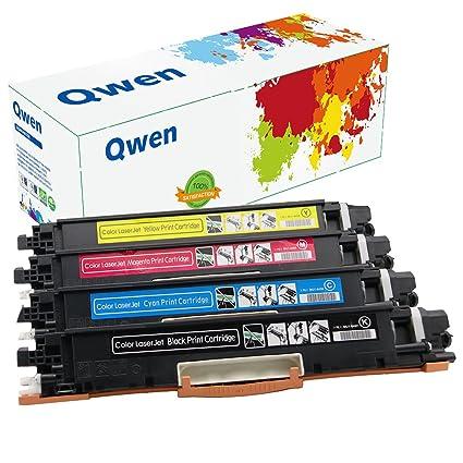 Qwen cartucho de tóner de repuesto para HP CE310 A CE311 A CE312 A ...