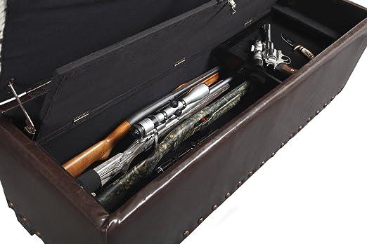 Amazon.com: American Furniture Classics 502 Gun Concealment Storage Bench:  Kitchen U0026 Dining