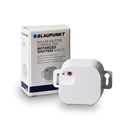 Blaupunkt Security SCM-S1 - Control de motores para puertas de garaje y persianas
