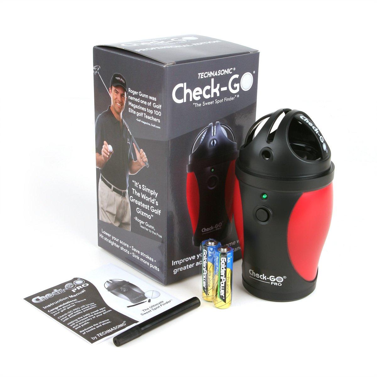 Technasonic Check-Go Pro Sweet Spot Electronic Golf Ball Liner by ProActive Sports
