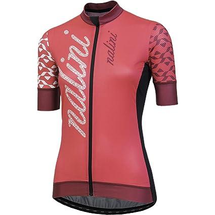 Amazon.com   Nalini Stilosa Short-Sleeve Jersey - Women s Cherry 69d0fb9ae