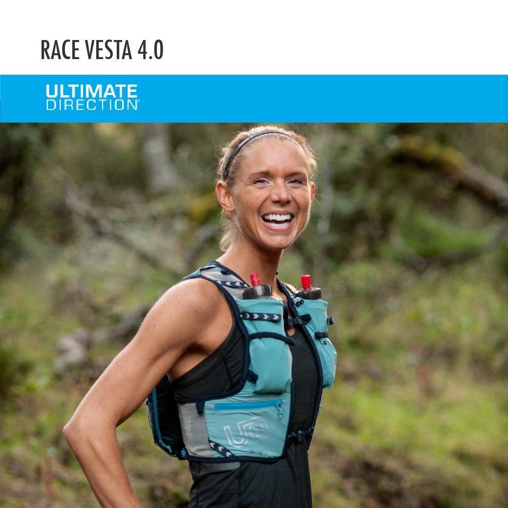 Ultimate Direction Race Vesta 4.0 Women/'s Running Hydration Vest Coral XS// SM