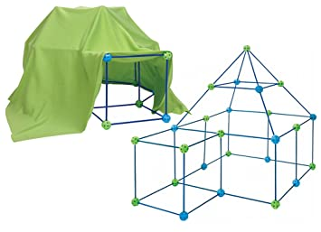 72 Piece Build Your Own Den Kit Childrens Play Construction Fort Tent Making Set  sc 1 st  Amazon UK & 72 Piece Build Your Own Den Kit Childrens Play Construction Fort ...