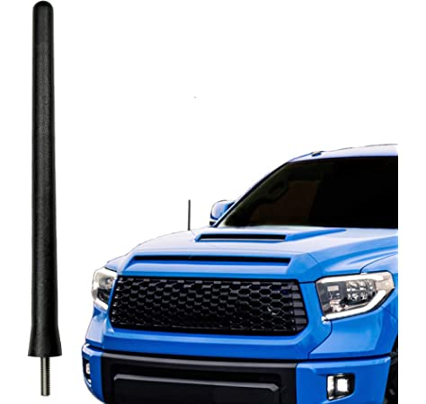 Maxracing Short Aluminum Antenna Compatible with 07 to 2015 GMC Acadia