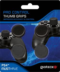 Gioteck - Pro Control Thumb Grips (PS4): Amazon.es: Videojuegos